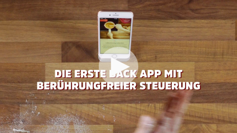 Die Dr. Oetker Backen App